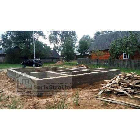 Строительство нового фундамента