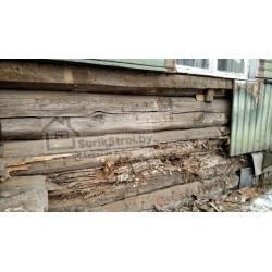 Устронение грибка на деревянном доме