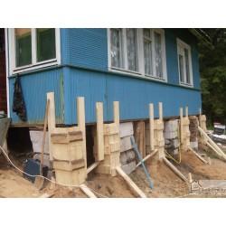 Подъем деревянных домов