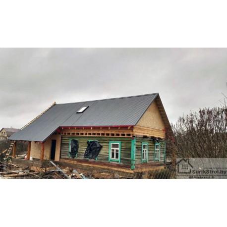 Наращивание деревянных домов